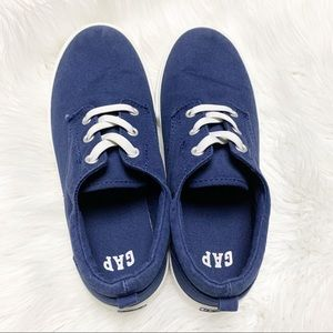 GAP Boys Canvas Simple Slip On Sneaker Blue 4